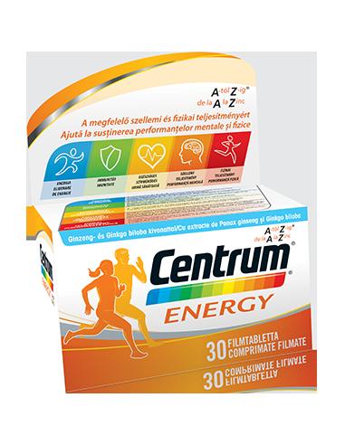 CENTRUM ENERGY cu 30 de comprimate