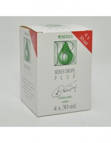 Beres Drops Plus cu 4 solutii orale...