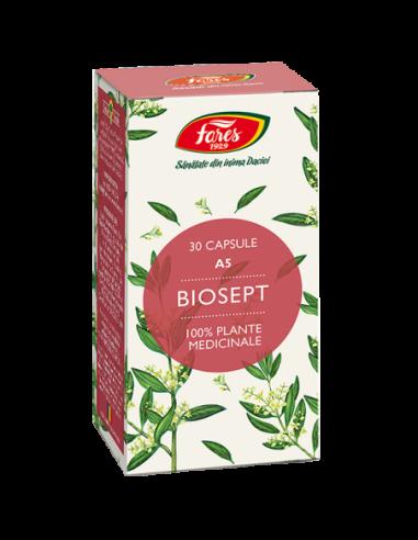 Biosept, A5, 30 capsule, Fares