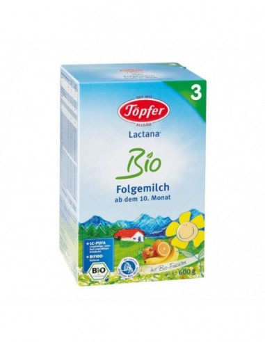 Topfer Bio 3 lapte praf 600g